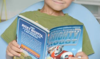 Ricky Ricotta's Mighty Robot Books