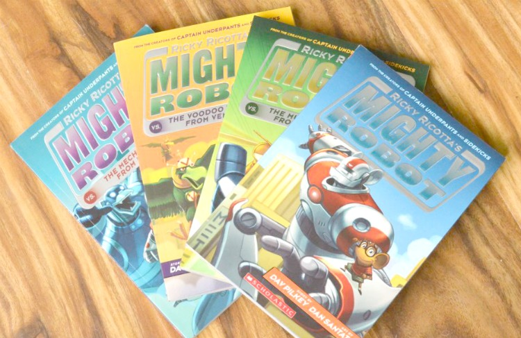 mighty robot books