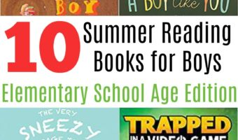Summer Reading Books for Boys (Elementary School Age Edition)